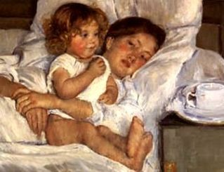 Breakfast_in_Bed_Mary Cassatt