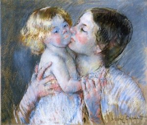Cassatt_A_Kiss_for_Baby_Anne