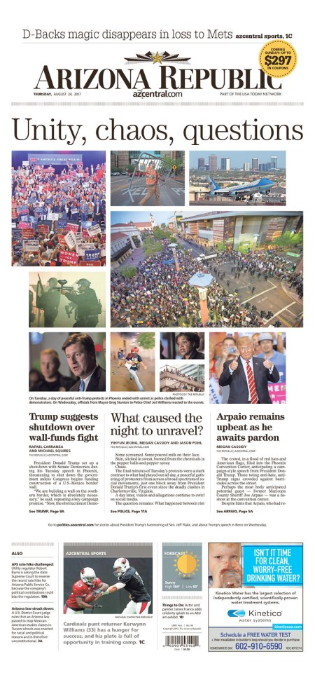 Failing AZ Republic still using Trump rally in vain effort to boost sales