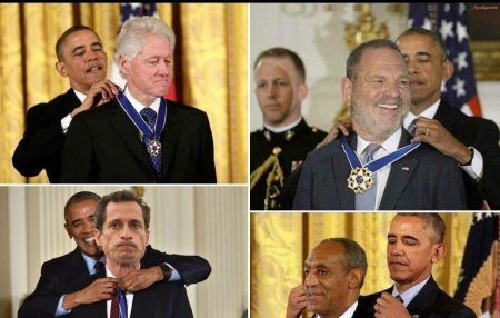 Dem sexual predators receive awards; others get prison terms