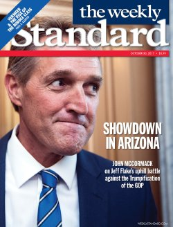 Weekly Standard gives cover to Jeff Flake — literally & figuratively